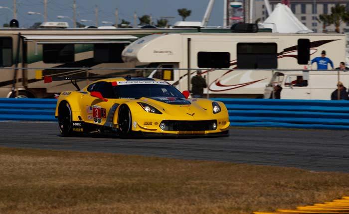 Corvette Racing at Daytona: GTLM Pole Position for Magnussen, No. 3 Corvette