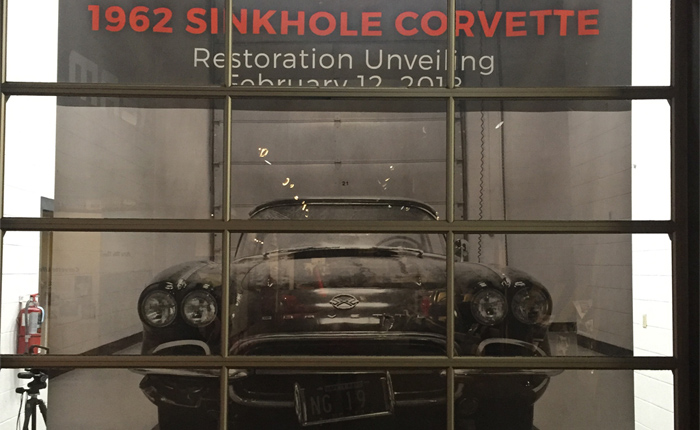 Corvette Museum to Unveil Freshly Restored 1962 Corvette on 4th Anniversary of Sinkhole