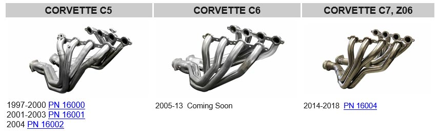CORSA Offering New Long Tube Headers for C5-C7 Corvettes