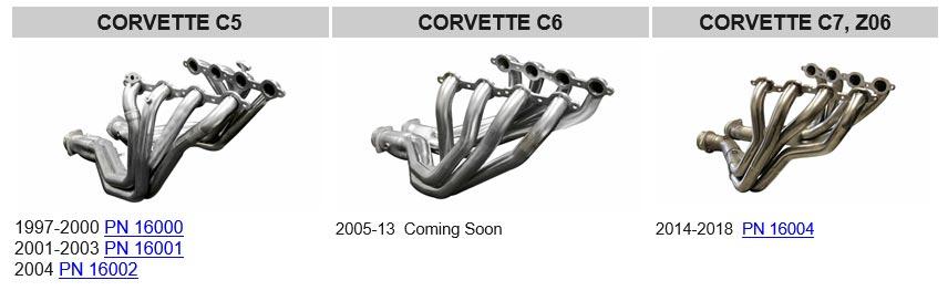 CORSA Offering New Long Tube Headers for C5-C7 Corvettes - Corvette