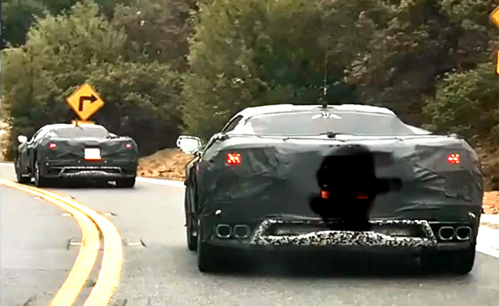 [VIDEO] C8 Corvette Prototypes Chased Down By a C5 Corvette Driver in California