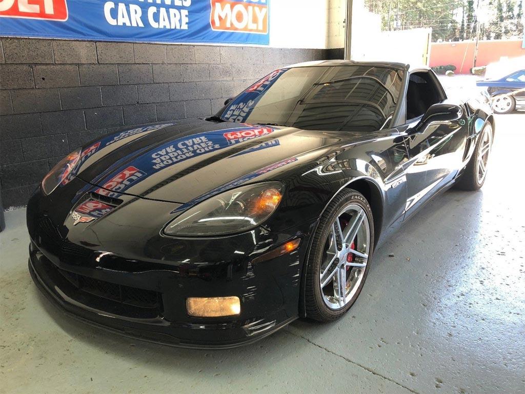 Corvettes on eBay: Abandoned 720-Mile 2009 Corvette Z06 Found in Storage Unit