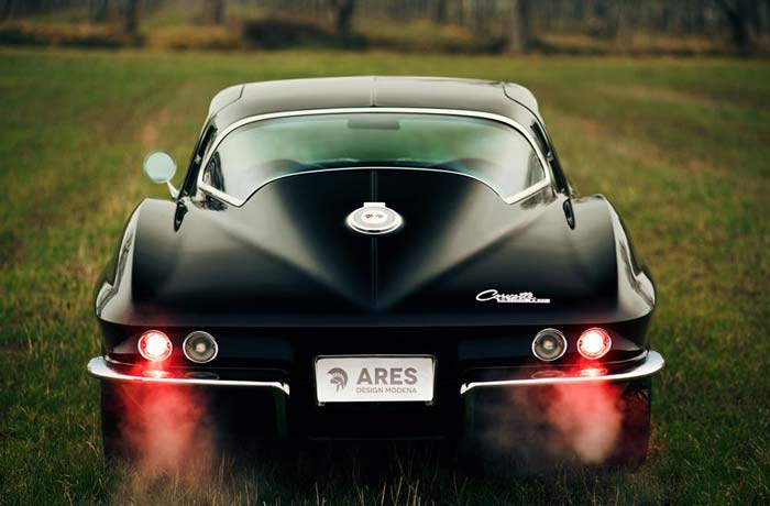 [PICS] ARES Design Shows Off Their Coachbuilt 1964 Corvette Restomod