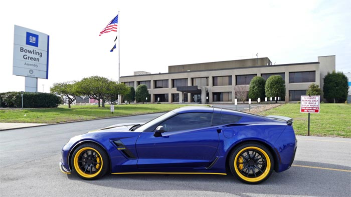 [PICS] Corvette Assembly Plant's Administration Offices Get a New Covered Entry