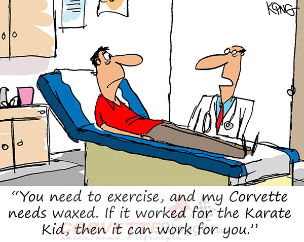 Saturday Morning Corvette Comic: The Doctor Knows Best...