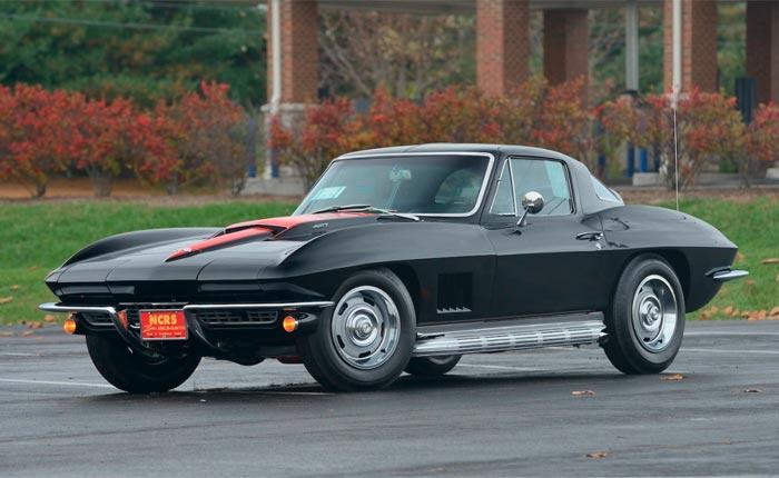 1967 Black / Black 427/435 Coupe