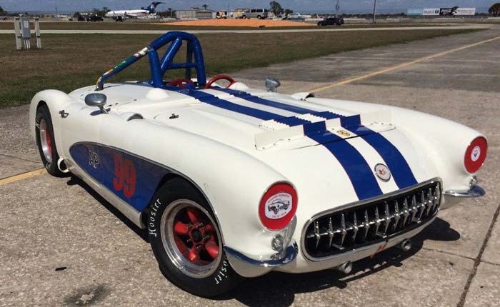 Corvettes on eBay: Package Deal of Matching 1957 Corvettes for Race and Street