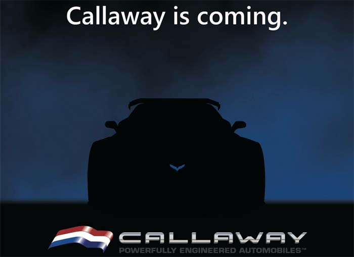 Callaway Competition USA Teases the Reveal of the Callaway Corvette C7 GT3-R Livery