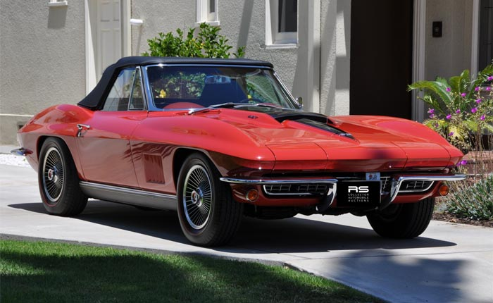 1967 Red / Red 427/435 Convertible