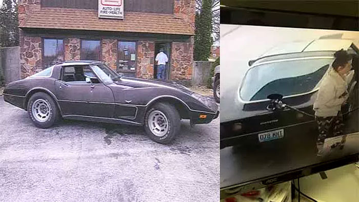 [VIDEO] Woman in a Stolen 1978 Corvette Steals Gas from Convenience Store