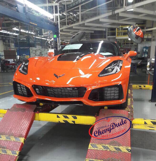 2019 Corvette ZR1 in Sebring Orange