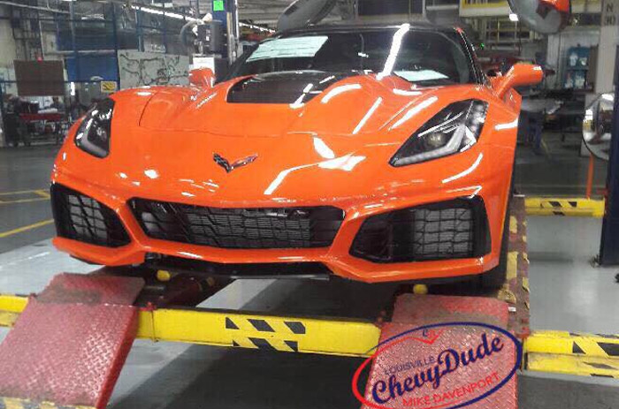 [PIC] 2019 Corvette ZR1 Production Has Begun!