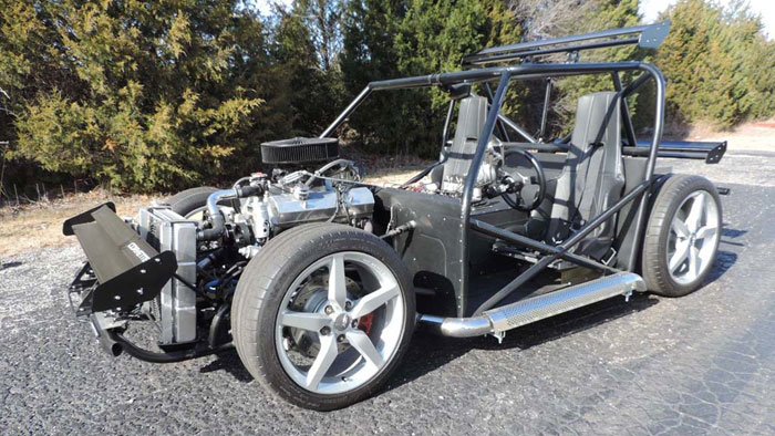 Corvettes on eBay: C4-based Vette Kart