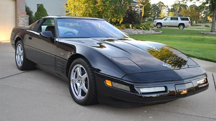 Ready for Export 1994 Corvette ZR-1 with RHD Conversion and Only 3,856 Miles