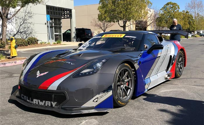 [VIDEO] Callaway Competition USA Testing Freshly Wrapped Callaway Corvette C7 GT3-R at Sebring