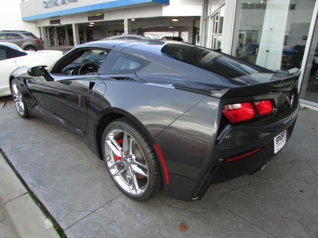 Gray 2017 Chevrolet Corvette Stingray Z51 Coupe 2LT