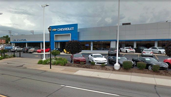 [STOLEN] Corvette Thieves Target Les Stanford Chevrolet