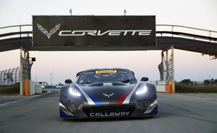 Callaway Competition USA Returns to St. Petersburg to Debut Corvette C7 GT3-R