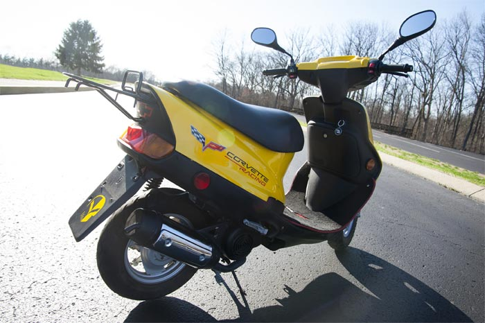 Corvette Museum Adds a Corvette Racing Paddock Scooter to its Collection