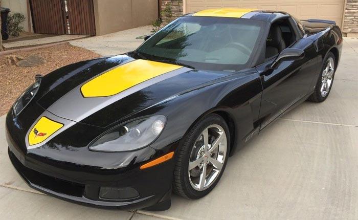 Two Black 2009 Corvette GT1 Championship Editions For Sale
