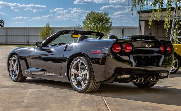 Two Black 2009 Corvette GT1 Championship Editions for Sale