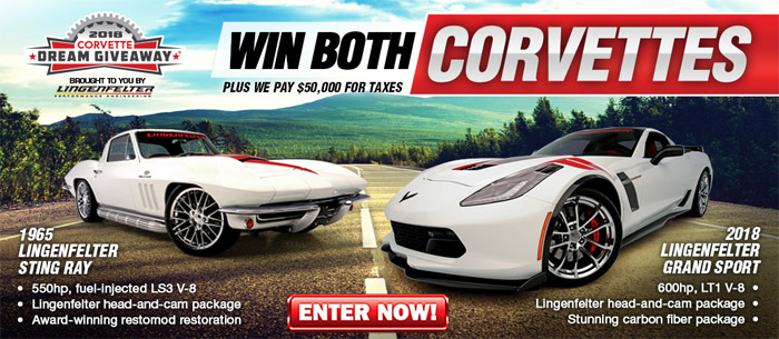 [PICS] The 2018 Corvette Dream Giveaway is Here!