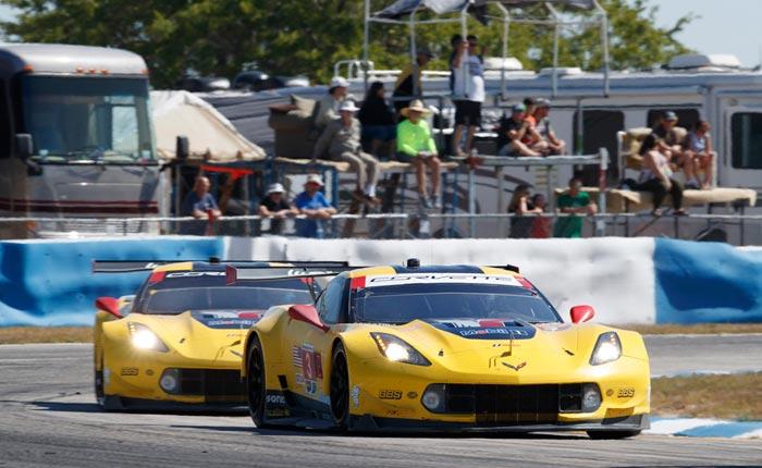 Corvette Racing at Sebring: Valiant Effort in Chase for Four Straight