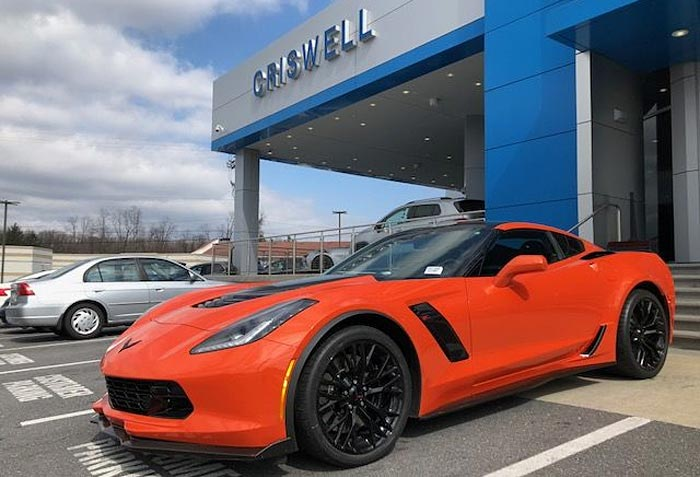 Corvette Delivery Dispatch with National Corvette Seller Mike Furman for March 18th