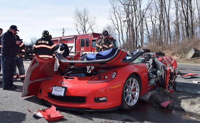 [ACCIDENT] 2013 Corvette Z06 Involved in Three-Car Crash in Pennsylvania