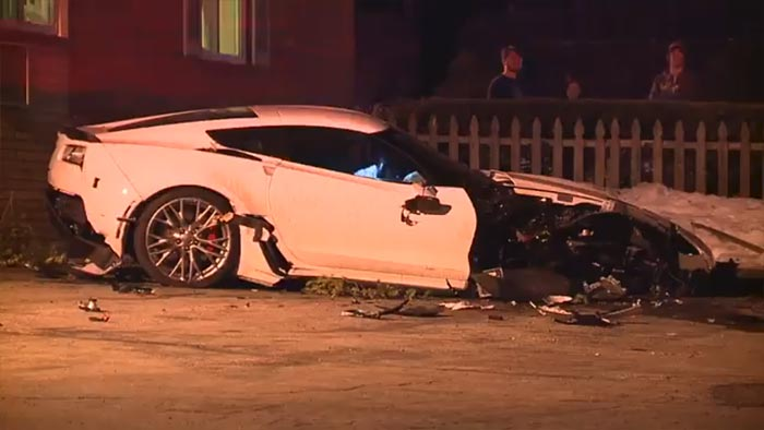 [VIDEO] Cleveland Police Search For Clues in Shootout Involving a Corvette Z06 and Dodge Caravan