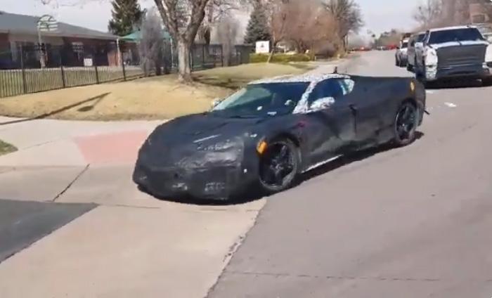 [VIDEO] Here's a Quick Glimpse of the Mid Engine C8 Corvette in Colorado
