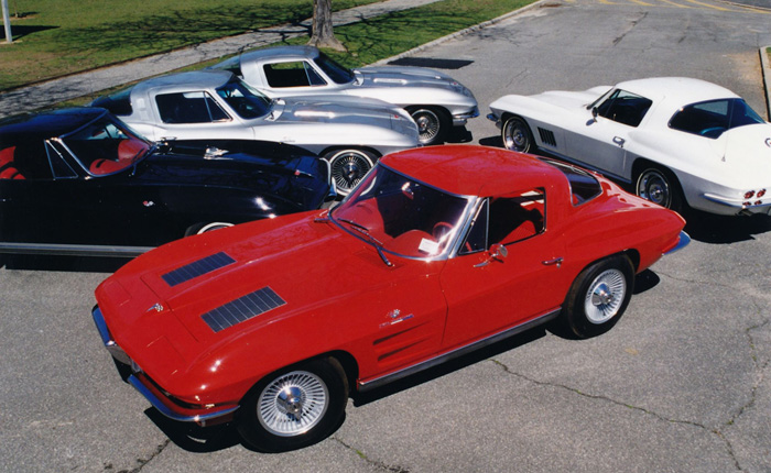 The Richard Cohen Collection of Five C2 Corvette Big Tanks Headed to Mecum Indy