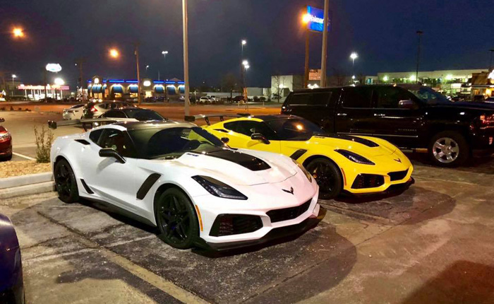 [PICS] Caravan of 2019 Corvette ZR1s Headed for Spring Mountain