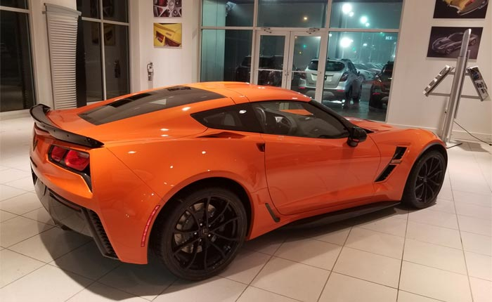March 2018 Corvette Sales