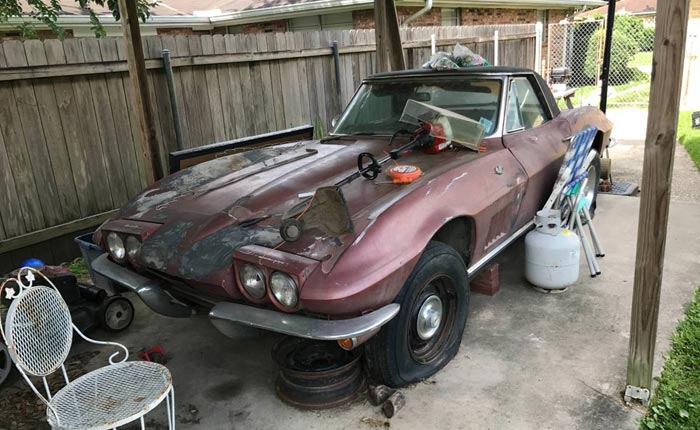 Corvettes on Craigslist: 1967 Convertible Convertible in New Orleans