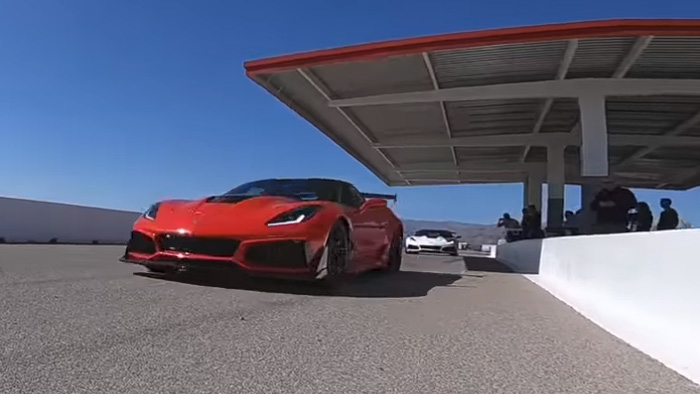 [VIDEO] 2019 Corvette ZR1 Hot Laps with Tony Kanaan at the Las Vegas Motor Speedway