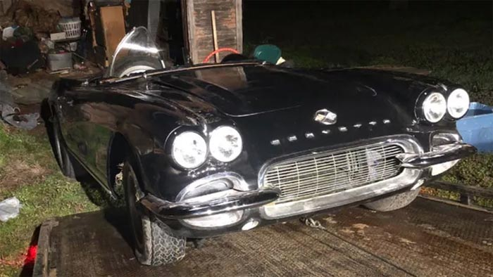[STOLEN] Vietnam Veteran's Missing 1962 Corvette is Recovered from an Abandoned Barn