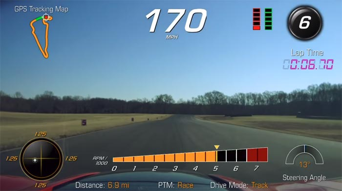[PICS] PDR Screenshots from VIR Show Just How Much Faster the Corvette ZR1 is Versus the Z06