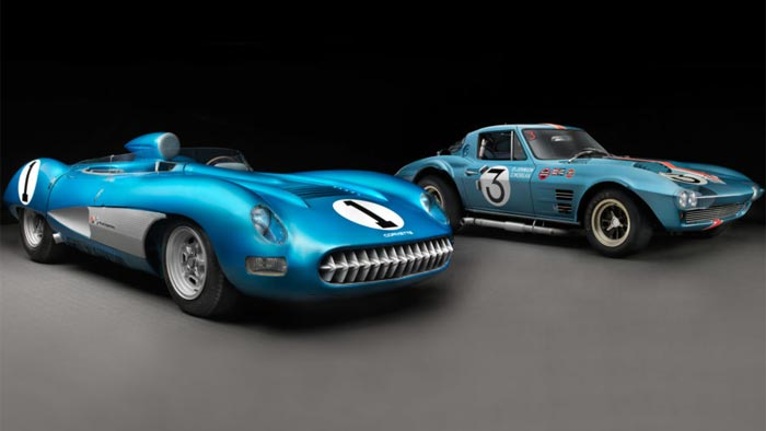 1957 Corvette SS and 1963 Corvette Grand Sport Chassis No. 004 on Display at the Revs Institute