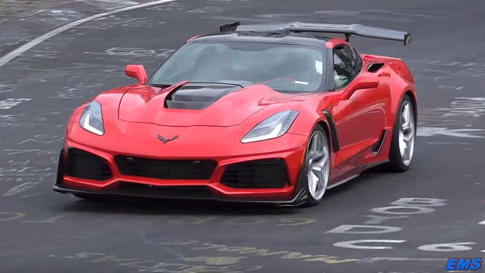 [VIDEO] The 2019 Corvette ZR1 is Back at the Nurburgring ...