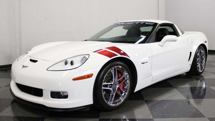 Corvettes on eBay: 2007 Corvette Z06 Ron Fellows Edition