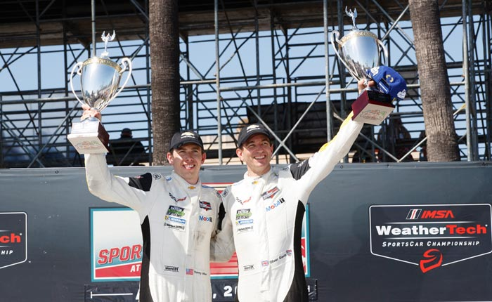 Corvette Racing at Long Beach: Gavin, Milner Go Back-to-Back!