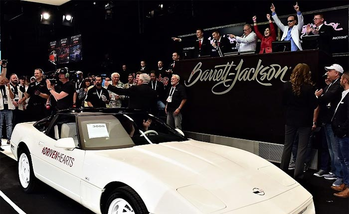 1988 35th Anniversary Corvette Will be Auctioned Again for Charity at Barrett-Jackson