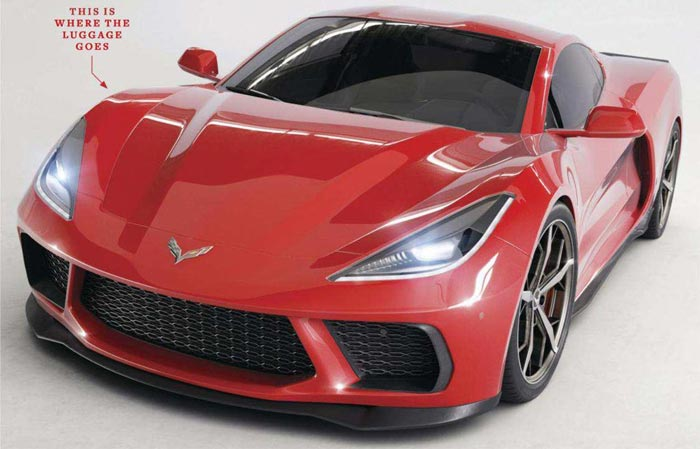 Pics Car And Driver Renders The Mid Engine C8 Corvette For The May