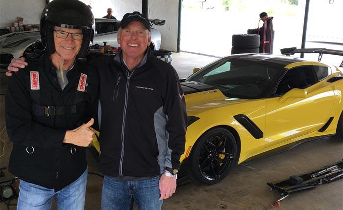 [PICS] Motor Trend's Randy Pobst Breaks Road Atlanta's Track Record in the 2019 Corvette ZR1