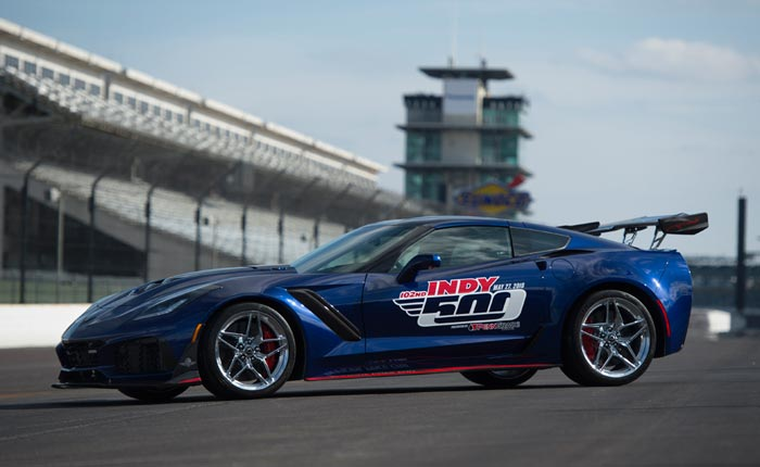 The 2019 Corvette ZR1 is the Official Pace Car of the 102nd Indianapolis 500