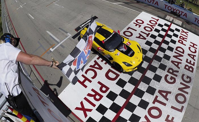[VIDEO] Relive the Win by Corvette Racing at Long Beach border=