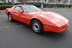 1984 Corvette is One of Two Painted Hugger Orange for Jim Gilmore and AJ Foyt