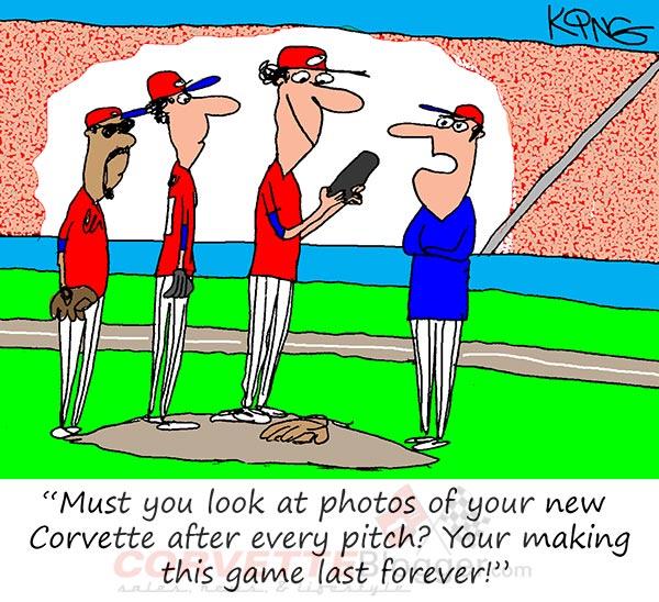 Saturday Morning Corvette Comic: Play Ball!