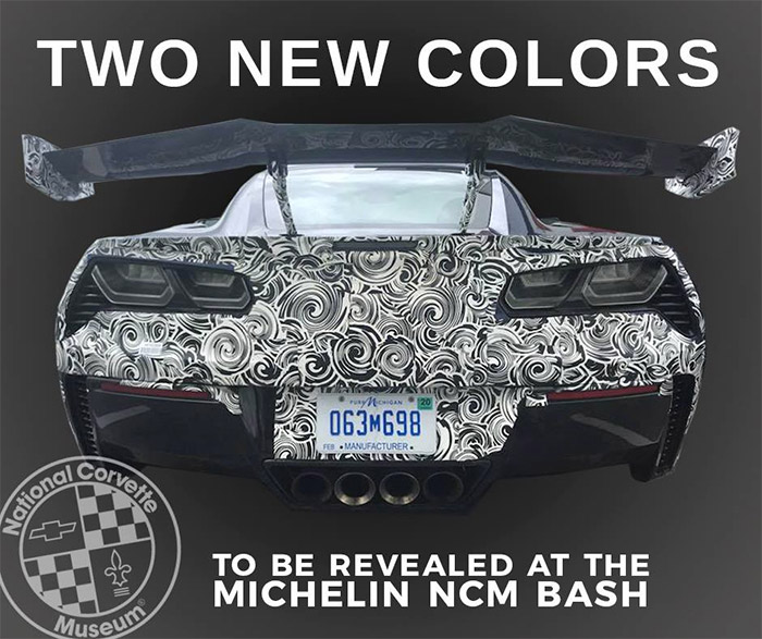 [PICS] New Gray for 2019 Corvettes Are Shown in These Official Dealer Color Chip Displays